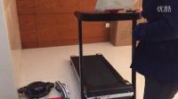 比纳A6跑步机安装视频