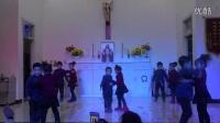 众山怎样围绕野路撒冷  (天主教舞蹈,新乡教区大段堂区)