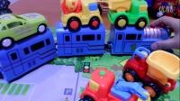 宝宝巴士 宝宝让工程车 托马斯和他的朋友们挖掘机视频表演 装载机 吊车 土方车亲子游戏 汽车总动员 奇趣