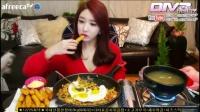 朴淑妍 炸鸡+芝士牛肉泡菜焗饭