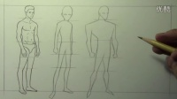 Exaggerating Body Proportions Male, 3 Different Styles|markcrilley