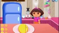 爱探险的朵拉系列游戏之朵拉的芒果芝士蛋糕小主公解说