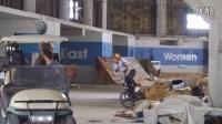 视频: 好玩、惊险、刺激,荒废的体育馆改造后BMX