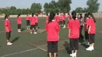 陕西省示范优质课《健美身体的技巧运动——团身前滚翻2-2》初一体育,铜川市一中:付丽丽