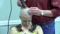 Big punishment Haircut for thief Lucia