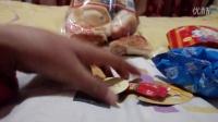 偶像活动伊脆薯条和切片面包