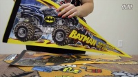 Monster Jam Superman and Batman Flags Unboxing|Monster Jam
