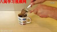 制做巧克力冰淇淋松饼杯