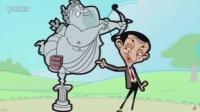 Mr Bean-cartoon tickling scene m_m