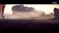 3D动画短片机器人大战毛毛虫生化战争荒漠边野