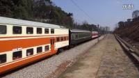 视频: [拍火车]DF4D+25G+RZ25+S25B[6586]会车[K785]石长线