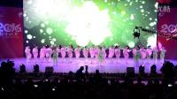 石门舞娘在2016县春晚的表演