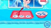 冰雪奇缘之艾莎制作杏仁饼干