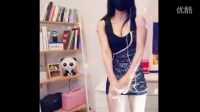 韩国神秘美女主播女刺客蓝色超短裙夜店舞蹈精华版
