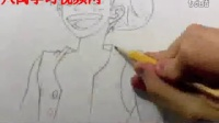 画漫画海贼王路飞2
