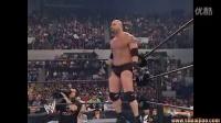 WWE2003年洛克VS战神高博