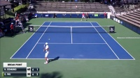 2016 ATP Challenger Tour Maui Men's Single Final Wu Di vs Kyle Edmund 自制HL