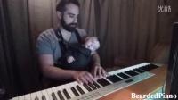 【新年快乐】胡子爸爸给宝宝弹奏安眠曲,真的秒睡着。