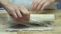 如何制作日本料理寿司-虾天妇罗奶酪卷寿司卷
