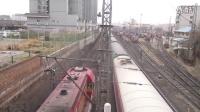 视频: SS7D K1363北京西-成都通过西安机务段12:38