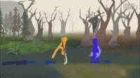 Dota2趣味火柴人动画视频 全英雄间的大乱斗