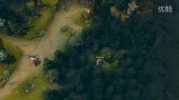 dota2趣味视频分享 树林深处的装备盗窃案件