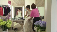 《因为是你才喜欢》宫子恐婚反应大 拍婚纱照受煎熬