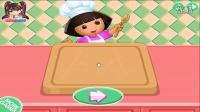朵拉做比萨 朵拉小厨师 朵拉做烤肉披萨 游戏殿堂 休闲小游戏