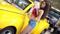 完美身材韩国美女车模写真视频-直播间热舞