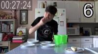 【大吃货爱美食】疯狂吃货Matt60秒吞掉5300大卡的奶酪蛋糕~ 160226
