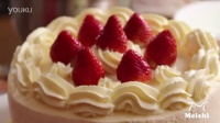 过生日做个好吃的草莓鲜奶蛋糕