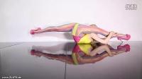 国外金发柔术美女系列 七色彩虹性感柔体激情演绎