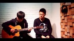 《火烧的寂寞》吉他弹唱,好漂亮的高音!