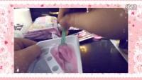 【凉凉酱】日本食玩双色冰淇淋