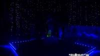 大庆激光舞第一人王恒在大庆电视台咱们工人有绝活大赛上的激光舞嘉宾演出
