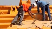 拼玩具一样就把车身203吨的矿用卡车组装成了!