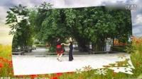 广场舞 牛仔舞恰恰16步双人示范教学[高清]