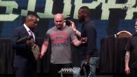 点击收藏UFC众星现场火爆对阵 乔恩-琼斯居然有腰带