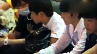 TFboys长沙送机关内 饭拍版 FBOYS-TF家族