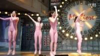 韩国美女团体SixBomb紧身连体粉色透视美臀热舞诱惑20_标清