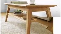 日式北欧纯白橡全实木家具宜家无印良品茶几桌边角几A18特价促销