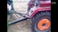 圣鸿牌玉米秸秆收割粉碎回收打捆一体机视频