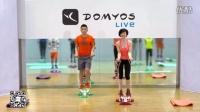 迪卡侬 家用太空漫步椭圆机静音迷你健身器材E-Shape+安装视频