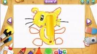 创意涂鸦比赛 有趣小游戏解说视频 儿童小游戏