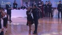 2016年世界舞蹈超级巨星亚洲巡回赛世界缅甸万丰国际老百胜职业公开组复赛恰恰Nino Langella&Anna Melnikova