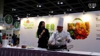 20160310 亞洲素食展尤瑞昌師傅烹飪示範紅糖酥貢棗Part 2