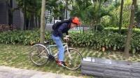 气囊技术骑行保护装置