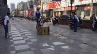 视频: 小学生山地车 豚跳慢动作 兔跳 海豚跳 刷街MTB