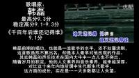 中国男歌手唱功排行榜(歌唱家级)