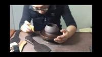 非物质文化遗产紫砂壶身筒制作视频